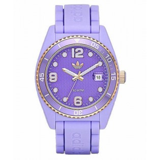 Adidas ADH2938 Men's Originals Purple Brisbane Quartz Silicone Watch