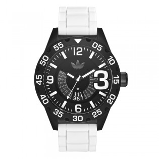 Adidas ADH3136 Men's Original Newburgh White Silicone Watch