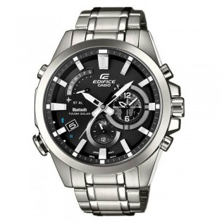 (OFFICIAL MALAYSIA WARRANTY) Casio Edifice EQB-510D-1A Men's Bluetooth Smartphone Link Quartz Steel Watch EQB-510D-1AER