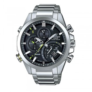 (OFFICIAL MALAYSIA WARRANTY) Casio Edifice EQB-500D-1A Men's Bluetooth Smartphone Link Quartz Steel Watch EQB-500D-1AER
