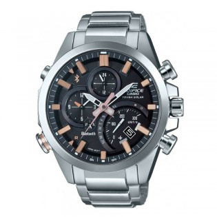 (OFFICIAL MALAYSIA WARRANTY) Casio Edifice EQB-500D-1A2 Men's Bluetooth Smartphone Link Quartz Steel Watch EQB-500D-1A2ER