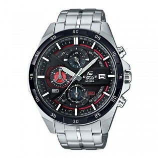(OFFICIAL MALAYSIA WARRANTY) Casio Edifice EFR-556DB-1A Men's Chronograph Date Steel Watch EFR-556DB-1AV