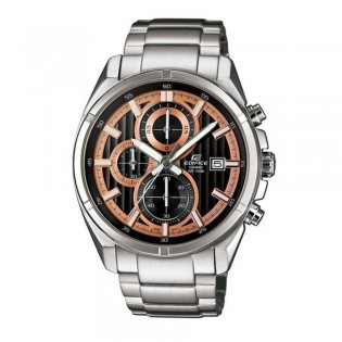 (OFFICIAL MALAYSIA WARRANTY) Casio Edifice EFR-532D-1A5 Men's Chronograph Date Steel Watch EFR-532D-1A5V