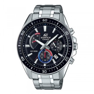 (OFFICIAL MALAYSIA WARRANTY) Casio Edifice EFR-552D-1A3 Men's Chronograph Date Steel Watch EFR-552D-1A3V