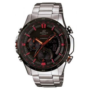 (OFFICIAL MALAYSIA WARRANTY) Casio Edifice ERA-300DB-1A Men's Digital Analog LED Twin Sensor Watch ERA-300DB-1AV