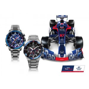 (OFFICIAL MALAYSIA WARRANTY) Casio Edifice EFS-S520TR-1A Men's Toro Rosso Limited Edition Chronograph Watch EFS-S520TR-1AER