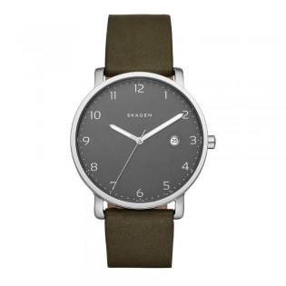 Skagen SKW6306 Men's Hagen Quartz Leather Watch