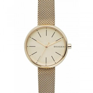 Skagen SKW2614 Women's Signatur Quartz Gold Toned Mesh Steel Watch