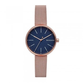 Skagen SKW2593 Women's Signatur Quartz Rose Gold Mesh Steel Watch