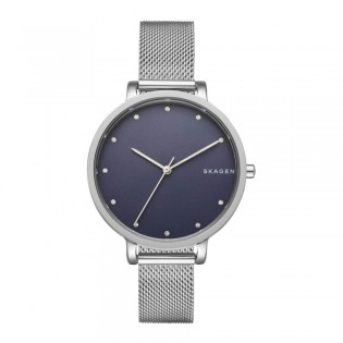 Skagen SKW2582 Women's Hagen Quartz Steel-Mesh Watch