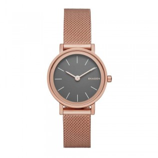 Skagen SKW2470 Women's Hald Rose Gold Steel Mesh Watch