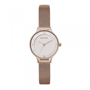 Skagen SKW2650 Women's Anita Gold Tone Steel Mesh Watch
