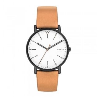 Skagen SKW6352 Men's Signatur Quartz Tan Leather Watch