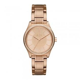 Armani Exchange AX5442 Women's Quartz Rose Gold Steel Watch