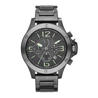 Armani Exchange AX1507 Men's Chronograph Large Gunmetal Steel Watch