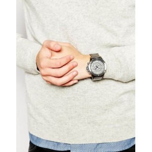 Armani Exchange AX1507 Men's Chronograph Large Gunmetal Steel Watch