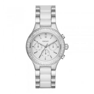 DKNY NY2497 Women's Chambers Multifunction Ceramic Steel Watch