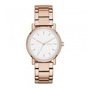 DKNY NY2344 Women's Soho Quartz Rose Gold Steel Watch