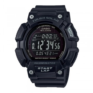 Casio STL-S110H-1B2DF Men's Digital Sport Solar Resin Watch STL-S110H-1B2