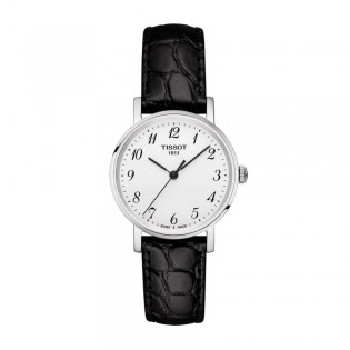 Tissot T109.210.16.032.00 Women's Everytime Small Quartz Leather Watch