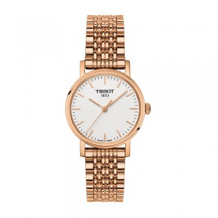 Tissot T109.210.33.031.00 Women's Everytime Small Quartz Rose Gold Steel Watch