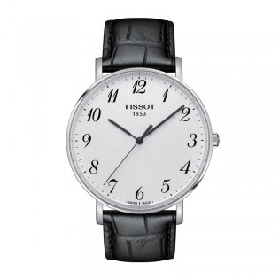 Tissot T109.610.16.032.00 Men's Everytime Large Quartz Leather Watch