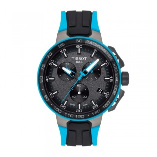 Tissot T111.417.37.441.05 Men's T-Race Cycling  Silicone Strap Watch