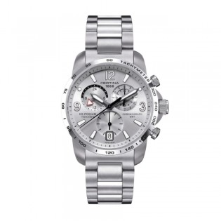 Certina C001.639.11.037.00 Men's DS Podium Chronograph GMT Stainless Steel Watch