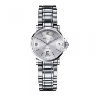 Certina C017.207.11.037.00 Women's DS Caimano Automatic Stainless Steel Watch