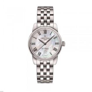 [Official Warranty] Certina C001.007.11.113.00 Women's DS Podium Automatic Stainless Steel Watch