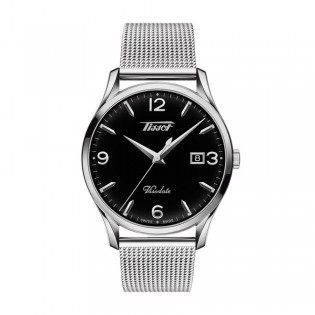 Tissot T118.410.11.057.00 Men's Heritage Visodate Quartz Mesh Steel Watch