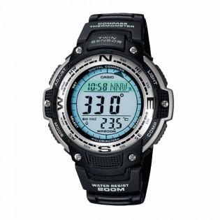 Casio SGW-100-1VDF Original Men's Outgear Twin Sensor Compass Thermometer Digital Resin Watch SGW-100-1 SGW-100-1V