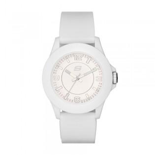 Skechers SR6023 Unisex Quartz Analog Rosecrans White Silicone Strap Watch