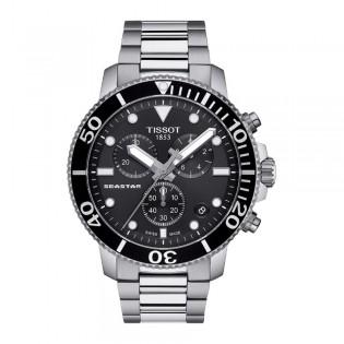 Tissot T120.417.11.051.00 Men's Seastar 1000 Chronograph Quartz Diver Stainless Steel Watch