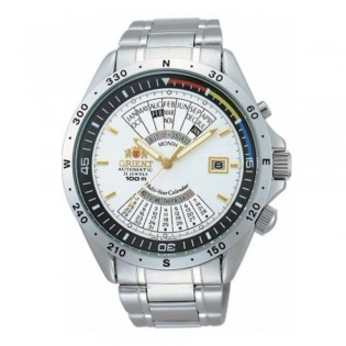 Orient CEU03002W Man Automatic Multiyear Calender Stainless Steel Watch EU03002W