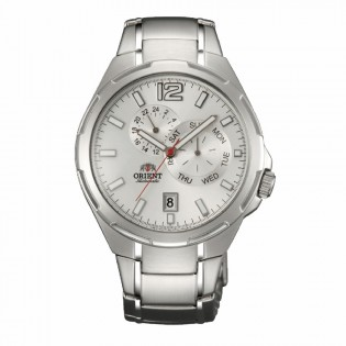 Orient CET0L002W Man Automatic Day and Date Display Stainless Steel Watch ET0L002W