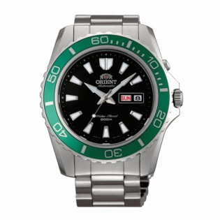 Orient CEM75003B Man Mako XL 21 Jewel Automatic Diver Scuba Diving 200 Meters Watch EM75003B