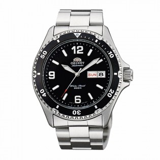 Orient FAA02001B Man Mako II Automatic Diver 200 Meters Stainless Steel Watch AA02001B