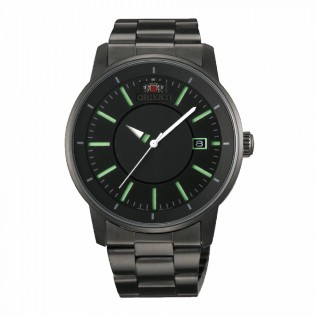 Orient CER02005B Man Orient Disk Automatic Black IP Coated Steel Watch ER02005B