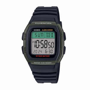Casio W-96H-3AVDF Man / Unisex Youth Digital Resin Band 10 Years Battery Life Casual Watch W-96H-3A