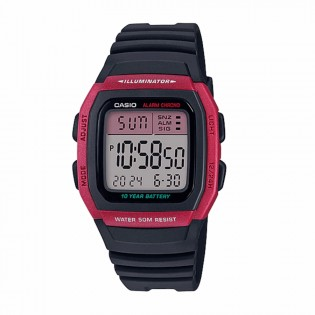 Casio W-96H-4AVDF Man / Unisex Youth Digital Resin Band 10 Years Battery Life Casual Watch W-96H-4A