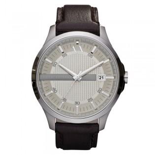 Armani Exchange AX2100 Men's Dress Quartz Leather Strap Watch