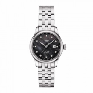 Tissot T006.207.11.126.00 Women's Le Locle Automatic 29mm Diamond Index Swiss Made Steel Woman Watch