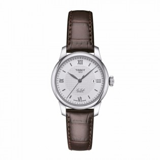 Tissot T006.207.16.038.00 Women's Le Locle Automatic 29mm Swiss Made Leather Strap Woman Watch