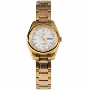 Seiko SYMK30K1 Women's Seiko 5 Automatic Gold Plated Steel Woman Dress Watch
