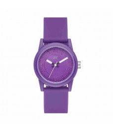 Skechers SR6034 Women's Rosencrans Mini Quartz Purple Silicone Strap Kids Watch