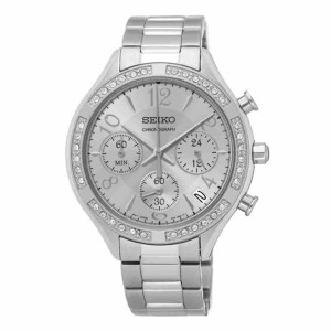 Seiko SSB899P1 Women's Chronograph Stainless Steel Dress Watch