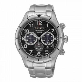 Seiko SRW037P1 Men's Chronograph Date Display Stainless Steel Gent Watch