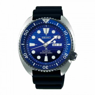 Seiko SRPC91K1 Men's Prospex Turtle Automatic Diver Silicone Strap Watch