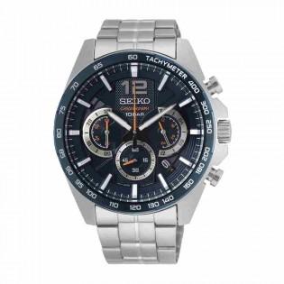 Seiko SSB345P1 Men's Neo Sport Chronograph Stainless Steel Watch